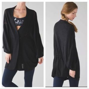 LULULEMON BREEZE EASY WRAP SWEATER CARDIGAN
